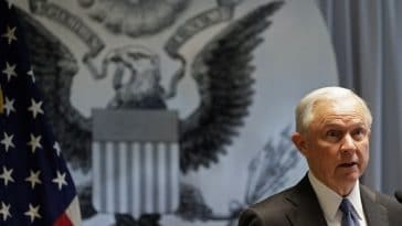 Attorney General Jeff Sessions is pushing for stricter sentencing in criminal cases. AP Photo/Frank Franklin II