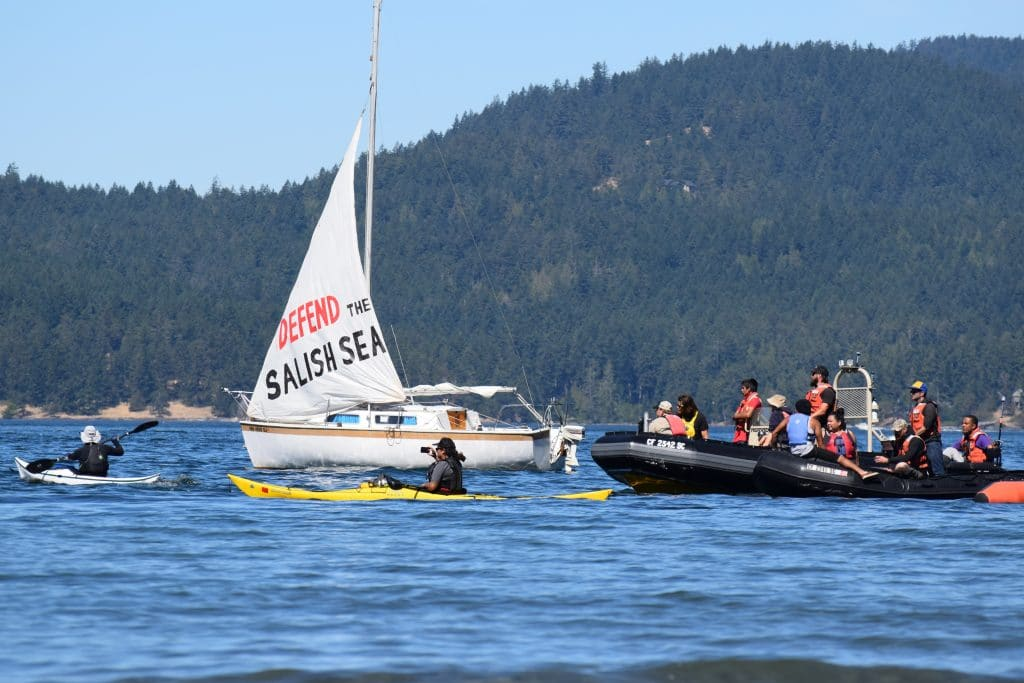 Activists training to oppose Kinder Morgan's Tar Sands pipeline