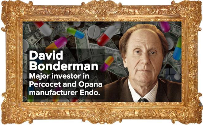 John Bonderman: Major investor in Percocet and Opana manufacturer Endo